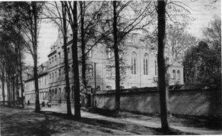 Das Canisiusstift in Ahaus in einer historischen Ansicht aus dem Jahr 1907. Foto: Archiv