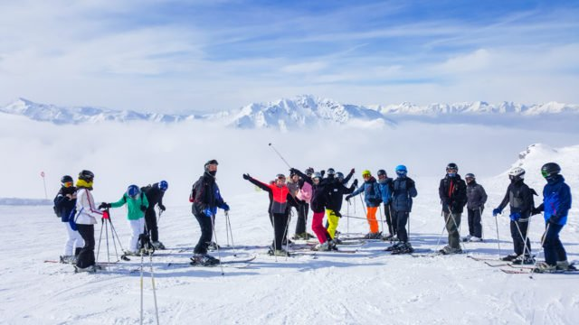 Alle Schülerinnen und Schüler dieses Bildungsgangs machen in der Klasse 12 einen Ski-Kurs. (Foto: SMMP)