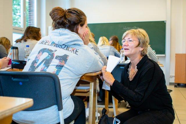 Unterricht am Berufskolleg Canisiusstift. (Foto: SMMP/Beer)