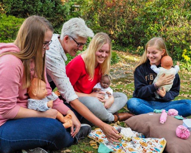 Unterricht für Kinderpfleger. (Foto: SMMP/Müller)