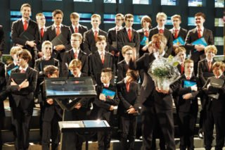 Für alle Mitwirkenden des Chorkonzertes gab es stehenden, langanhaltenden Applaus. (Foto: SMMP/Müller)