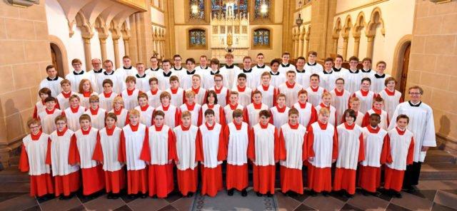 Der Paderborner Domchor kommt anlässlich des Patronatsfestes des Berufskollegs Canisiusstift am 12. Mai zu einem Konzert nach Ahaus. Foto: Paderborner Dommusik