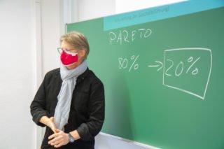 Fundraiser Dr. Udo Marquardt moderert den Workshop. Foto: SMMP/Ulrich Bock